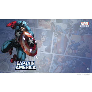 Marvel Champions Captain America Game Mat