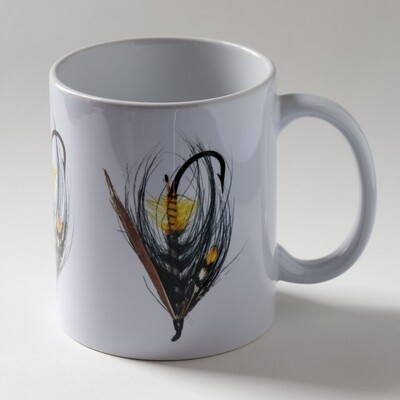 Akroyd Salmon Fly Mug - Triple Version 2