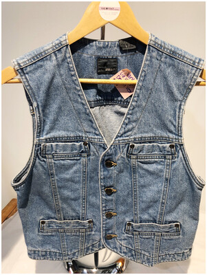 80's Vintage Liz Wear Denim Vest