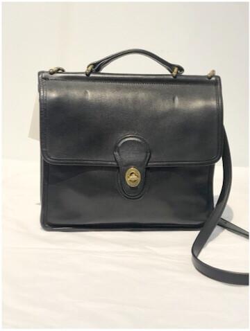 Vintage Coach Leather Cross Body Leather WILLIS 9927 Messenger Bag