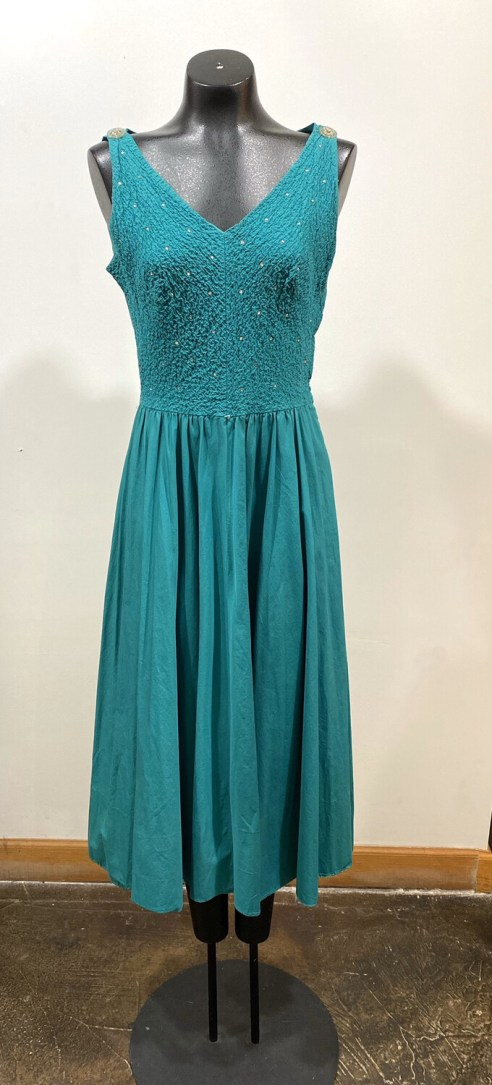 1950's Handmade Rhinestone Dress