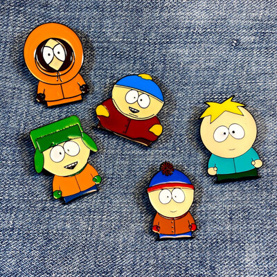 South Park Pin Set