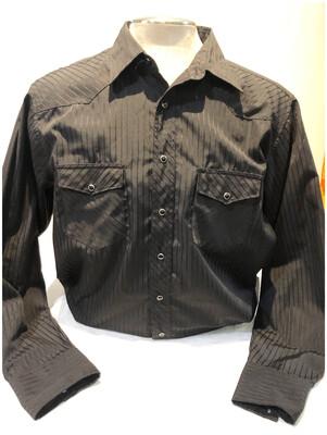 Vintage Wrangler Pinstripe Men's Western Shirt