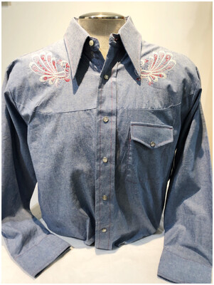 Vintage Andy Mew York Men's Western Shirt