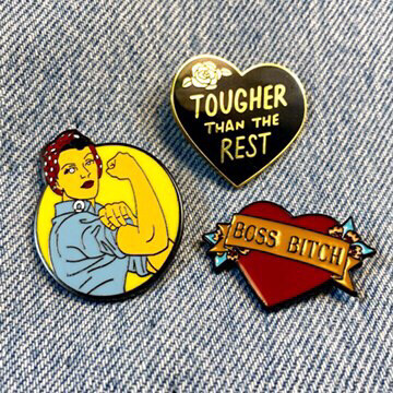 Boss Thoughts Pin Set
