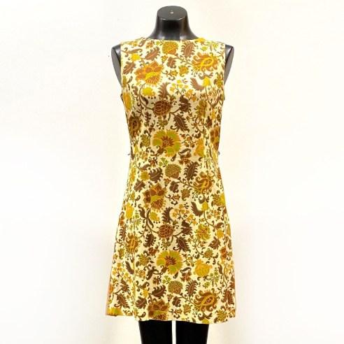 Vintage 1960's Martha Moore Sleeveless Dress