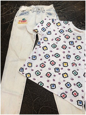 Men's Vintage Wrangler American Hero Hurricane Wash Jeans