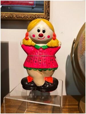 1970's Happy Sad Face Clown Bank