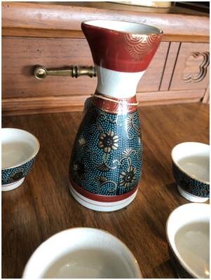 1970's Japanese Sake Set