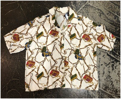 Vintage Bernard Silk Blouse
