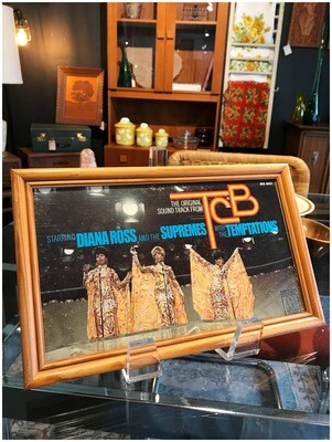 Framed Diana Ross and The Supremes with The Temptations from the Soundtrack TCB