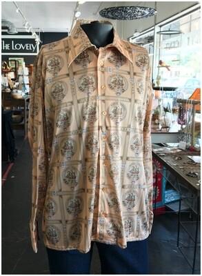 Men's Vintage Oleg Cassini 1970's Porto Fino Shirt