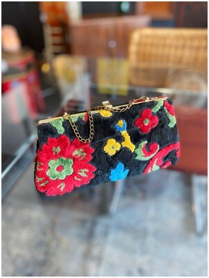 Vintage Carpet Handbag