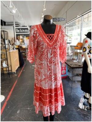 Modern Boho Patterned Day Dress