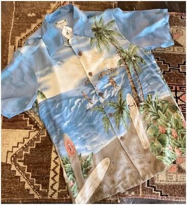 Vintage Men's Kamehameha Hawaiian Shrit