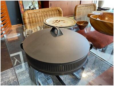 Jens Quistgaard IHQ Flamestone LIdded Casserole/Dutch Oven