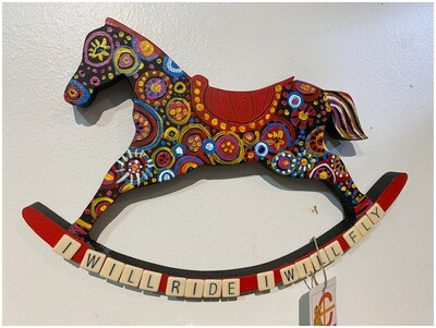 Upcycled Horse Wall Art