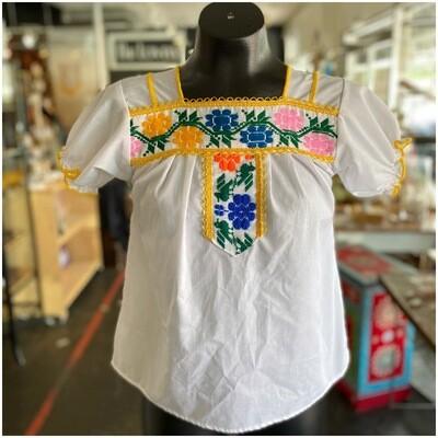 Vintage Boho Embroidered Blouse