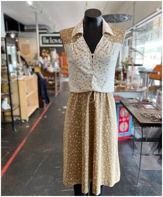Vintage 1970's Butterfly Dress