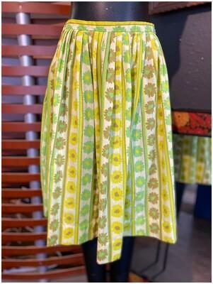 Vintage Happy Flowers Skirt