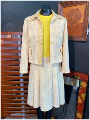 Vintage 2 Piece Dress & Jacket