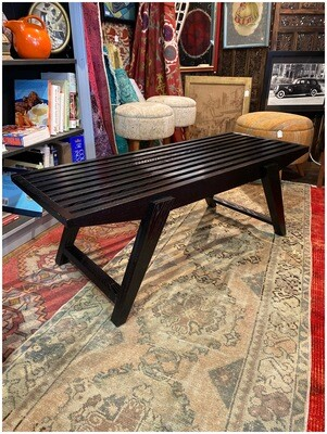 Vintage Inspired 1950's Slat Coffee Table