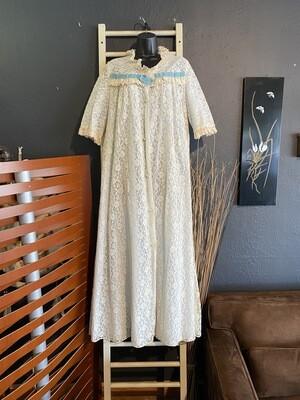 Vintage 1960's Lace Night Dress