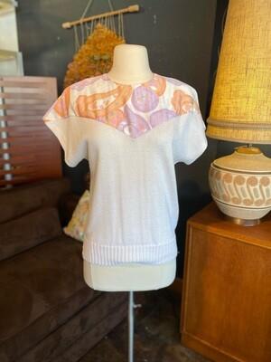 Vintage 1980's Leslie Faye Pullover Sweater