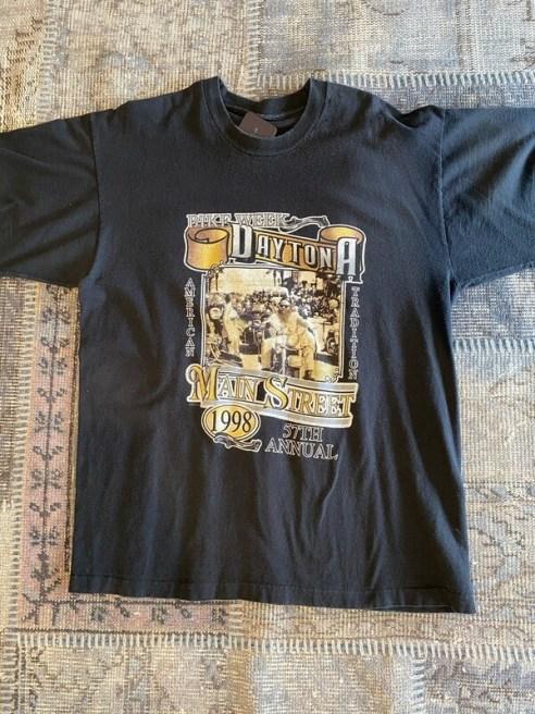 57th Annual 1998 Daytona Bike Week Main Street T-Shirt