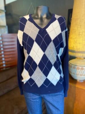 Men's Vintage Pringle Sweater