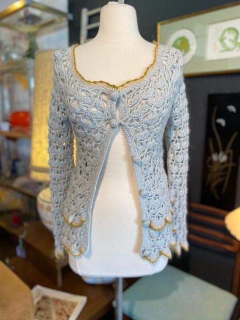 Vintage Inspired Crochet Sweater