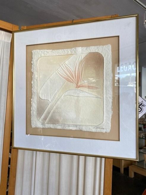 Vintage Roberta Adkins Limited Edition 1984 Bird of Paradise