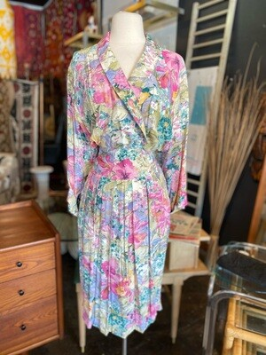Vintage Nina Piccalino Rayan Floral Dress