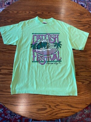 Vintage Catfish Festival Crescent City, Florida T-Shirt