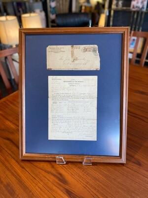 1912 Revolutionary War Service Record