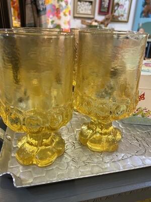 Vintage Tiffin Footed Glasses