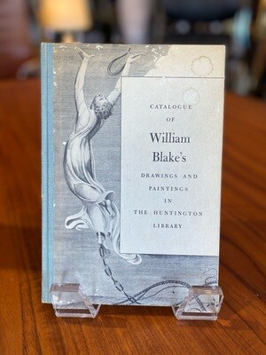 Vintage 1963 Catalogue of William Blake's Drawings & Paintings in the Huntington Library