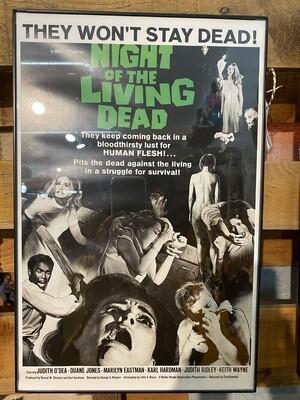 Framed Night of the Living Dead Poster