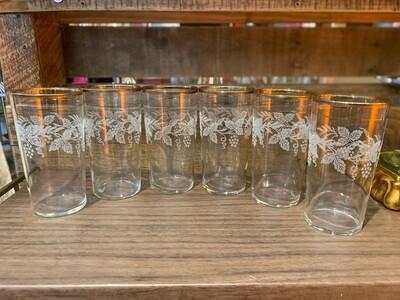 Vintage Bartlett Collins Highball Glasses