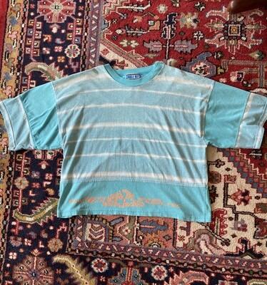 Men's Vintage Bugle Boy Ocean League Tie Die Shirt
