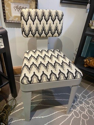 Mid Century Modern Chair with New Fabric