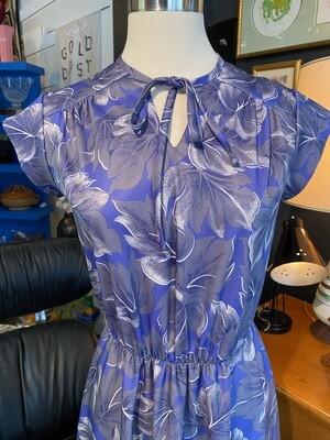 Vintage 1970's Print Day Dress