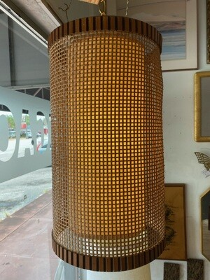 Vintage 1950's Hanging Swag Lamp
