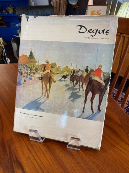 Vintage 1951 First Edition Degas in Full Color