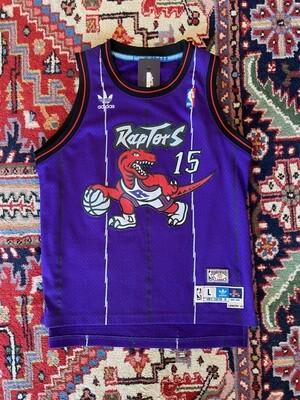 Vintage NBA Raptors #15 Carter Jersey