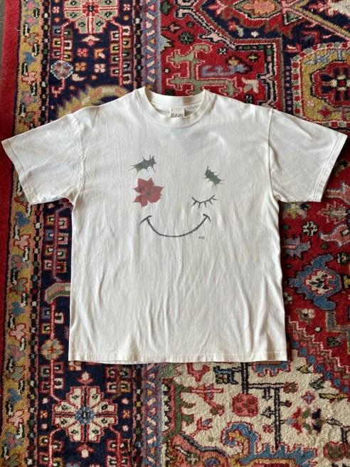 Vintage Leaf Face T-Shirt