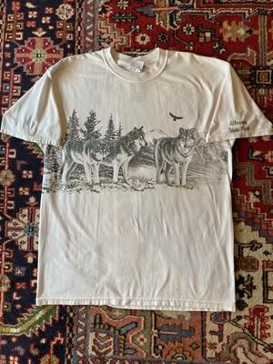 Vintage Allegany State Park Wolves T-Shirt