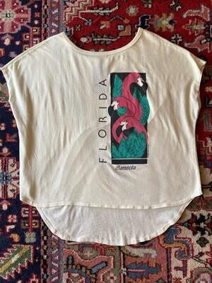 Vintage 1986 Sarasota Flamingo T-Shirt