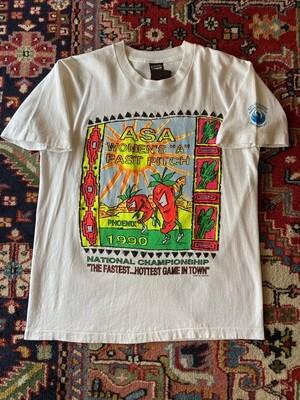 Vintage 1990 ASA Women's A Fast Pitch T-Shirt