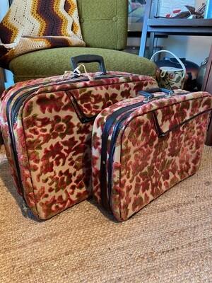 Vintage Set of Two Luggage